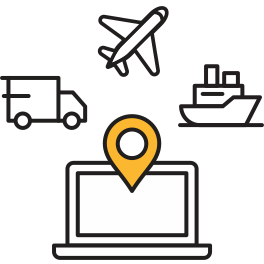 Real-time multimodal shipments