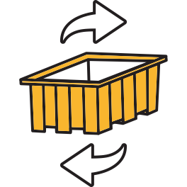 returnable shipping assets monitoring